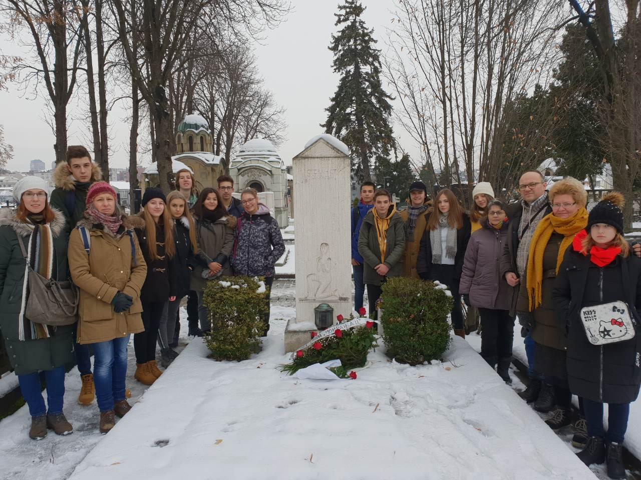 01. Kod spomenika St. Mokranjcu, 09.01. 2019